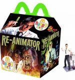 If Stuart Gordon's Re-Animator was marketed as a Happy Meal. Art by Newt Clements.