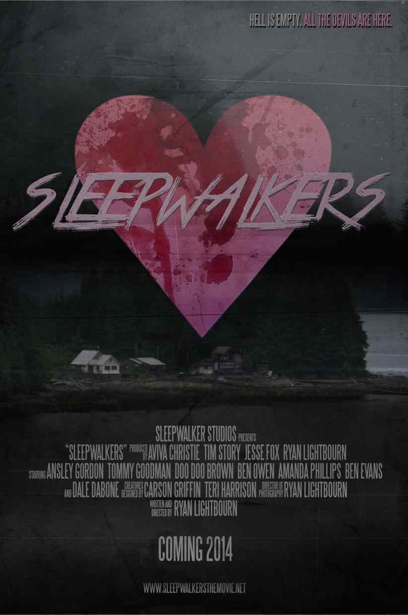 Poster for Ryan Lightbourn's Sleepwalkers.