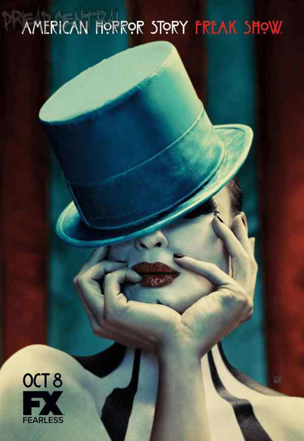 Title Sequence from American Horror Story revealed. Poster regarding American Horror Story: Freak Show.