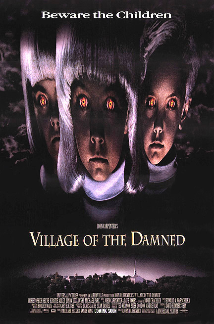 The John Carpenter movie Village of the damned.