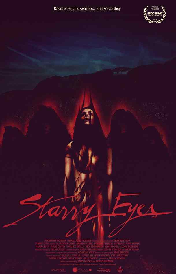 new clip from Starry Eyes poster.