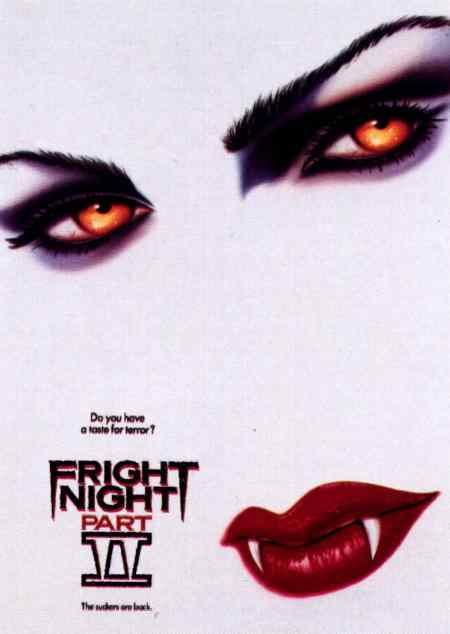 Poster art for Fright Night Part II