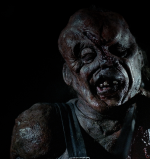 The popular Hatchet movies that star Kane Hodder as horror character Victor Crowley.