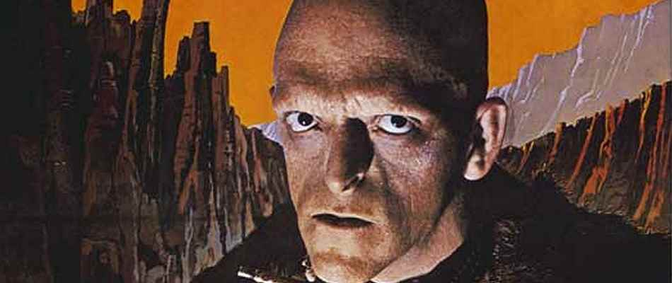 Detail of Michael Berryman as Pluto from The Hills Have Eyes.