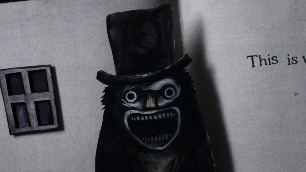 The Babadooks of Hazard. The Babadook is here this holiday season. The Babadook Pop-up book is available for pre-order. The movie poster for The babadook written and directed by Jennifer Kent.