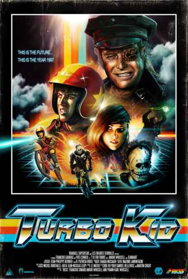 Michael Ironside. Turbo Kid Poster from RKSS.