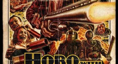 Hobo With a Shotgun poster