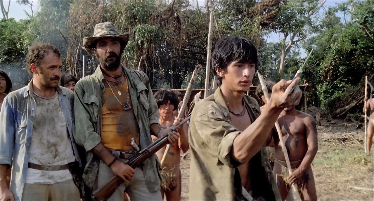 Cannibal Holocaust directed by Ruggero Deodato.