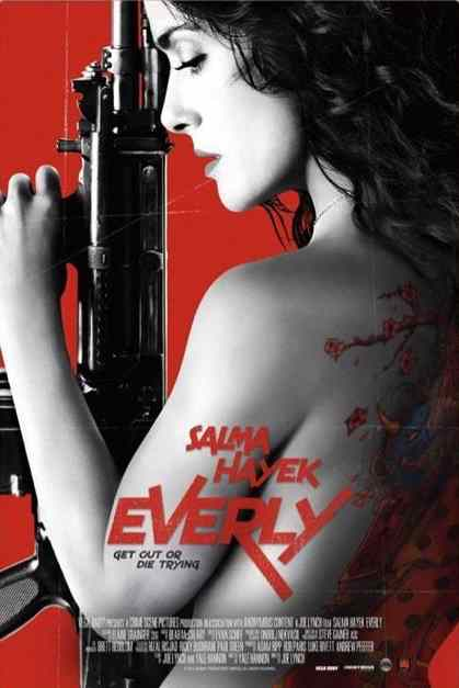 Poster for Joe Lynch's Everly.