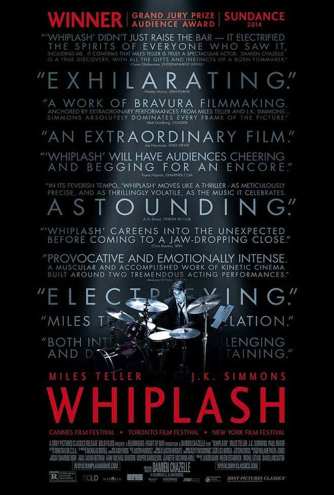 Whiplash Film Poster.