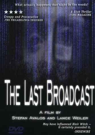 The Last Broadcast poster