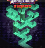 """The cover art for the upcoming game """"Spooky's House of Jump Scares."""""""