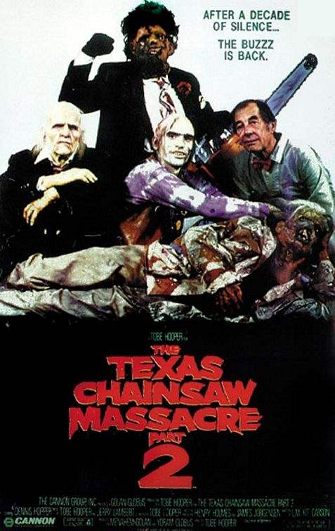 Poster for The Texas Chainsaw Massacre 2