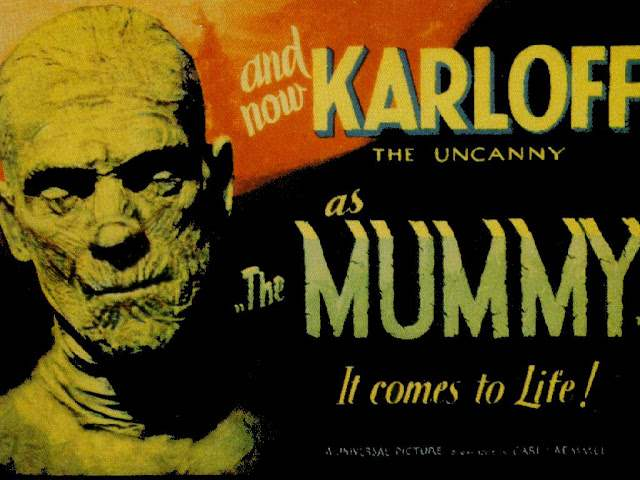 Poster for Universal's 1932 movie The Mummy