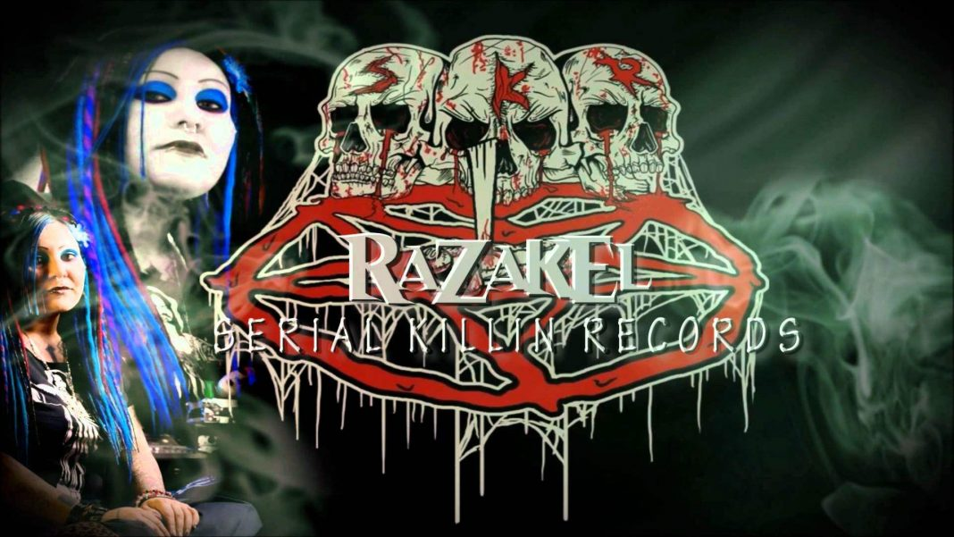 Razakel the female horrorcore rapper.