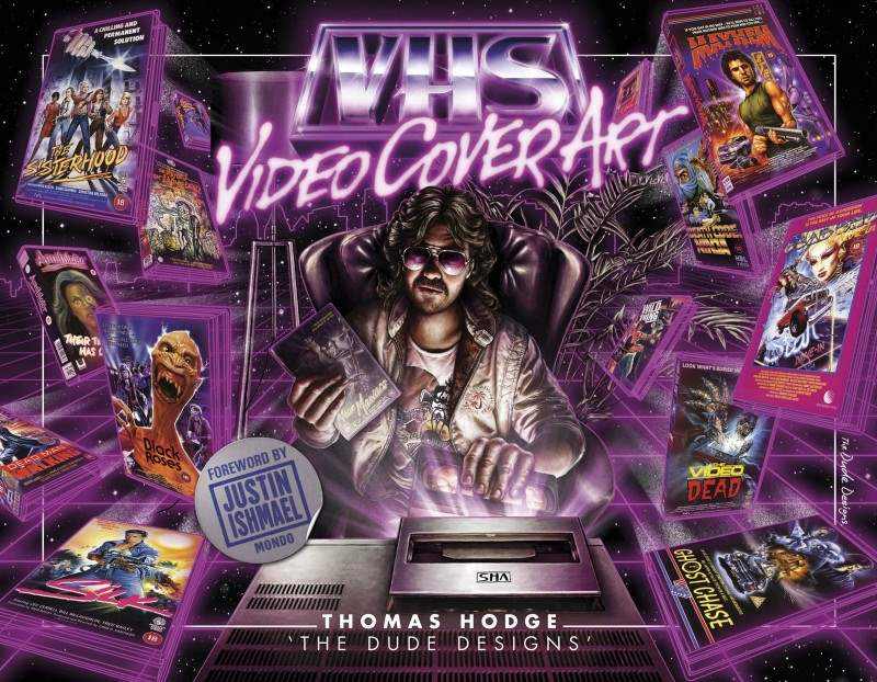 vhs video cover art cover