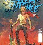 "The alternate cover for ""Death Sentence: London,"" a post-apocalyptic sequel to ""Death Sentence"""