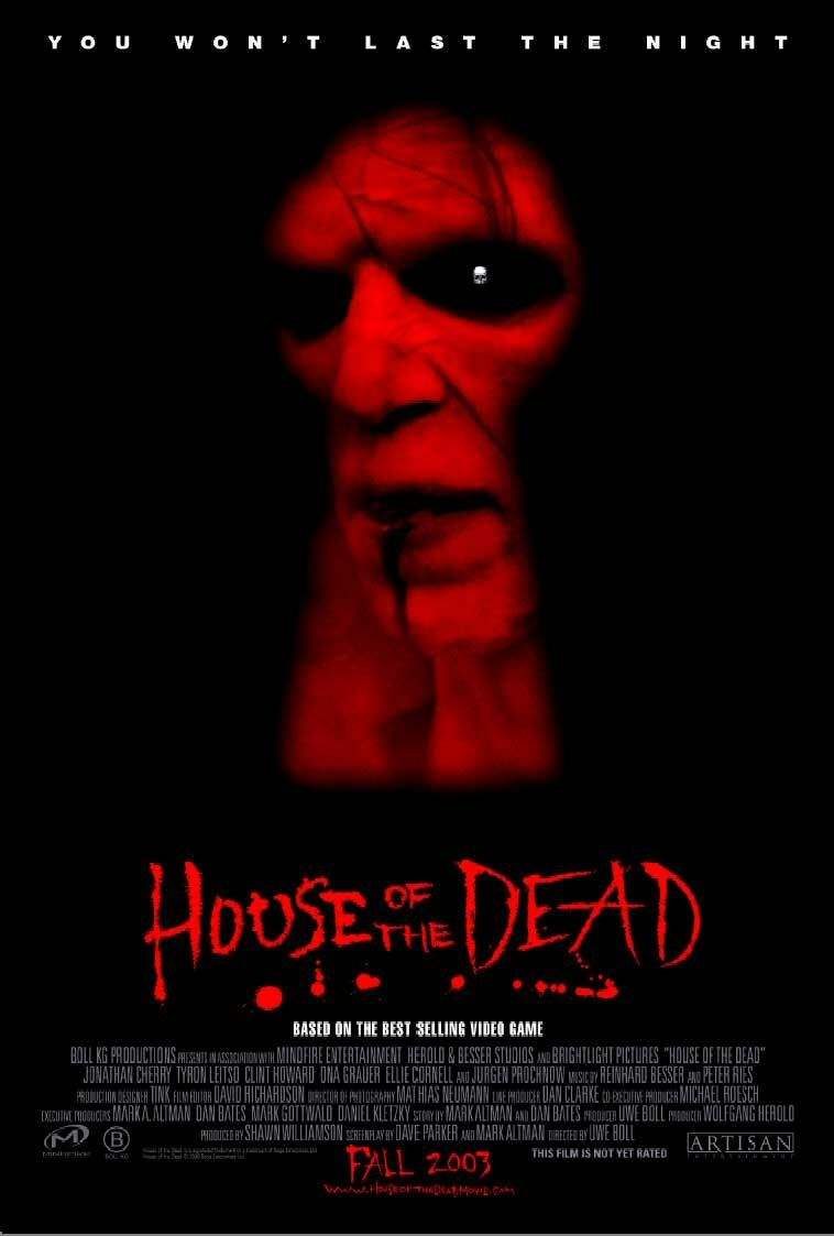 Poster for Uwe Boll's House of the Dead