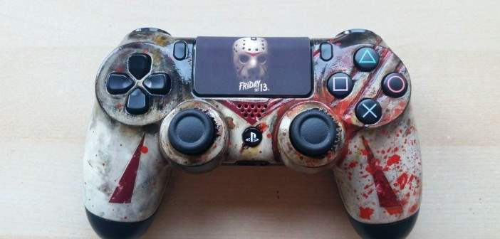 Friday the 13th Jason Voorhees PS4 controller.