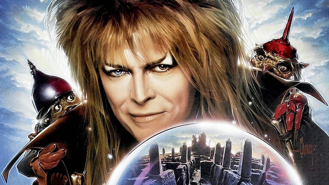 The late David Bowie in the cult classic Labyrinth.