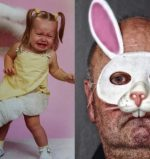 Terrifying Easter Bunny pics