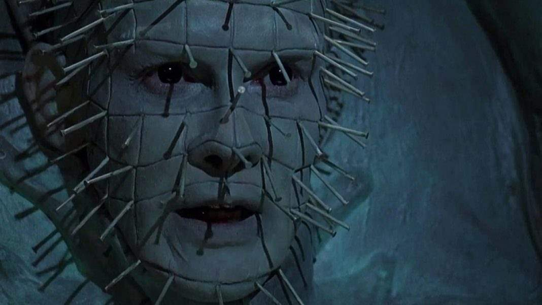Pinhead in Hellraiser III - anxiety and horror movies