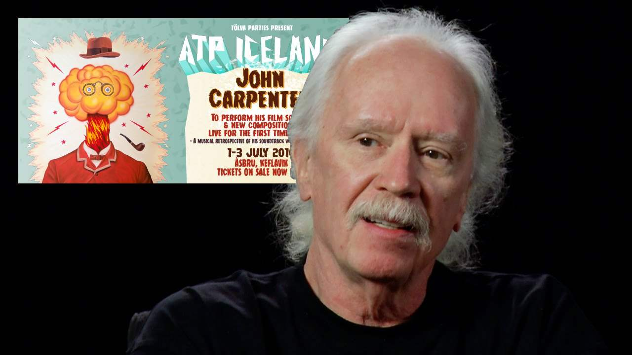 John Carpenter, the legendary director of Halloween