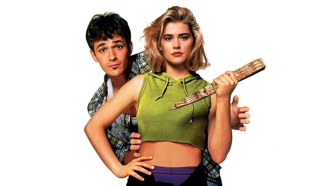 Poster for the 1992 film Buffy the Vampire Slayer