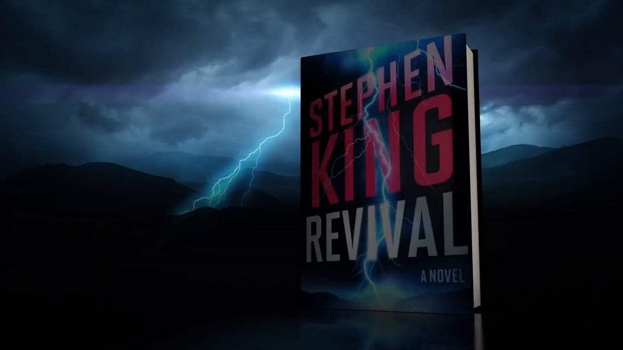 Graphic from book trailer for Stephen King's Revival