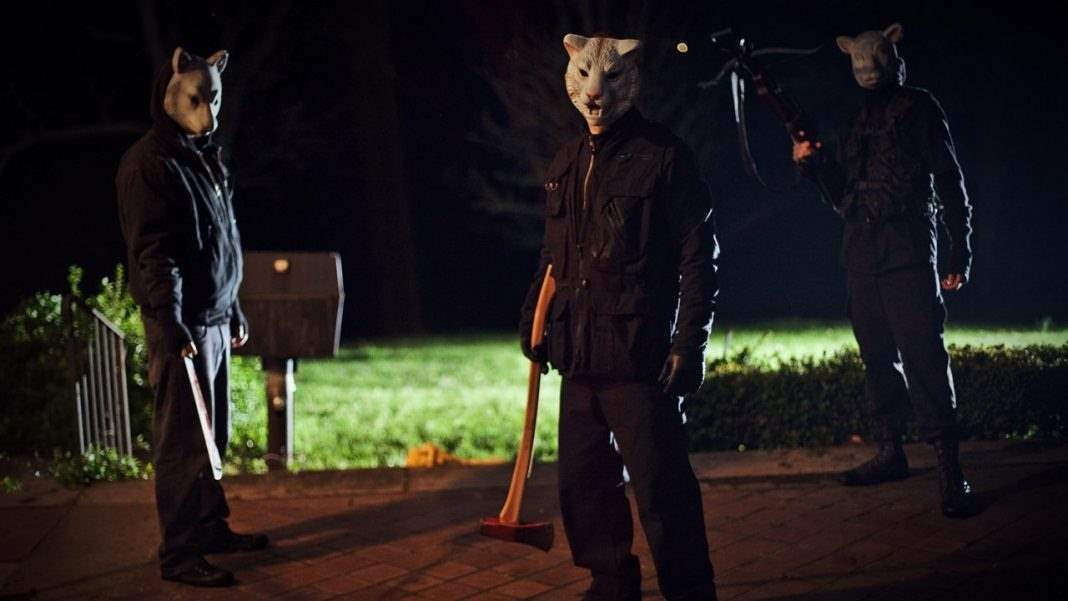 the masked intruders from You're Next