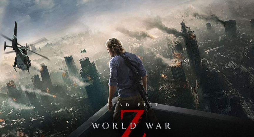 the fast paced zombies of World War Z reviewed by Nic Odeku