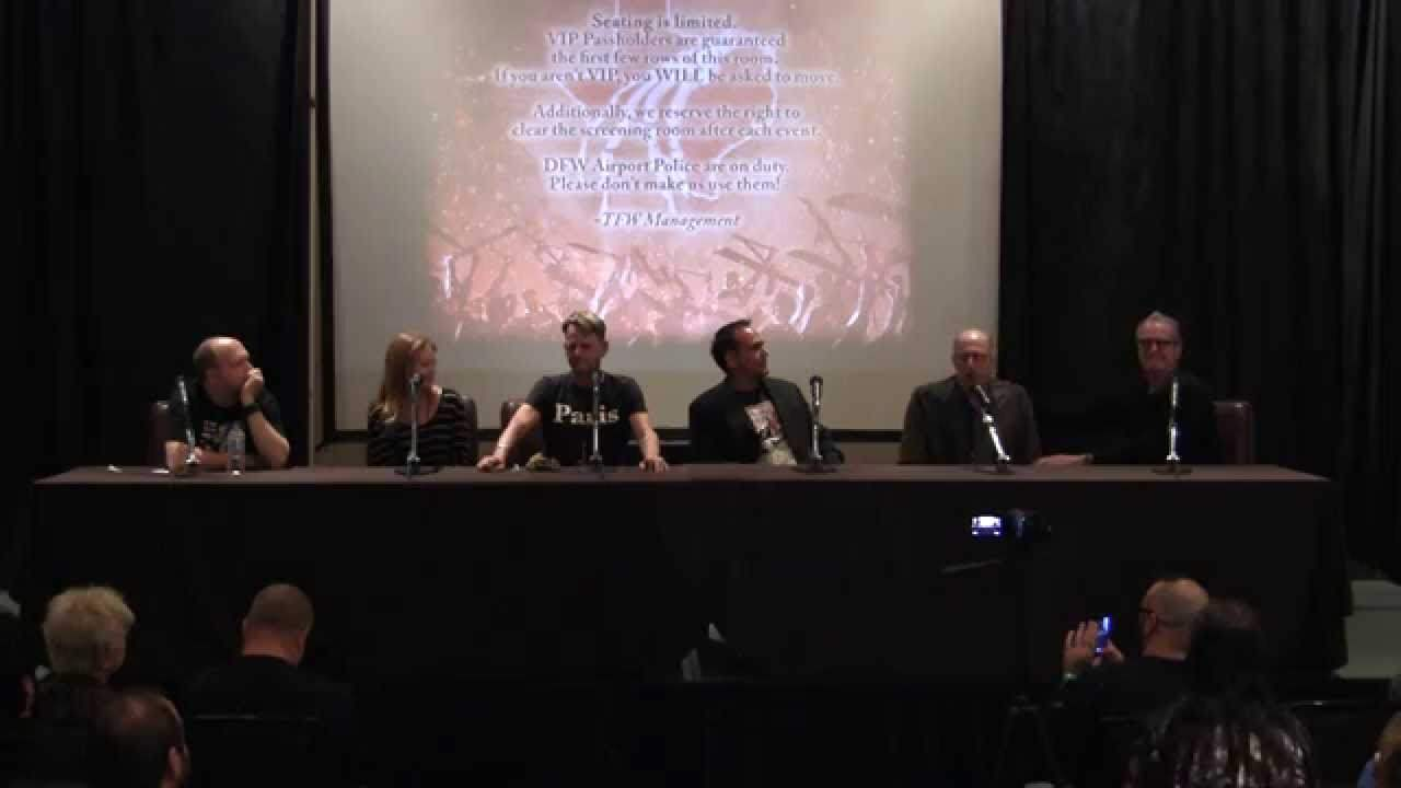 panel at Texas Frightmare Weekend