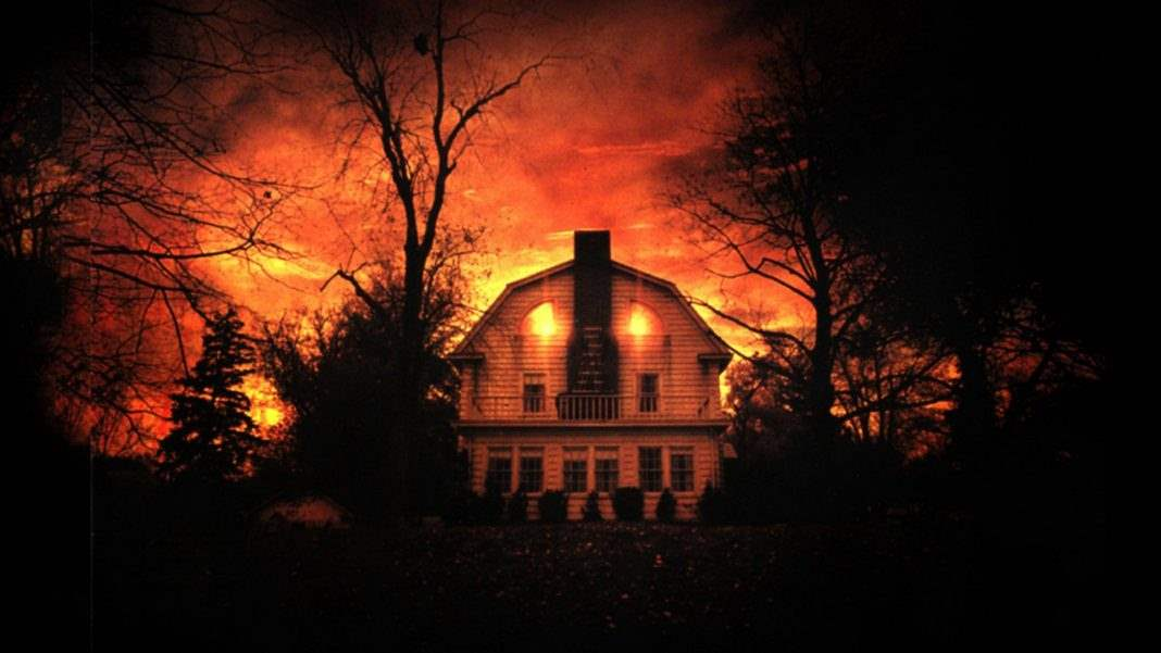 The Amityville house.