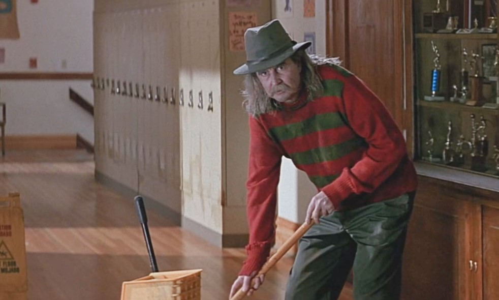 Director Wes Craven's cameo in Scream