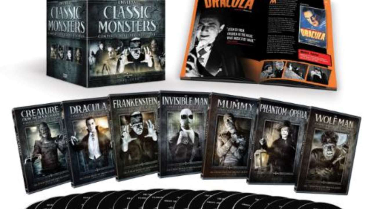 Universal Classic Monsters The Complete Collection Is A