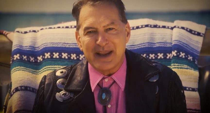 A photograph of Joe Bob Briggs