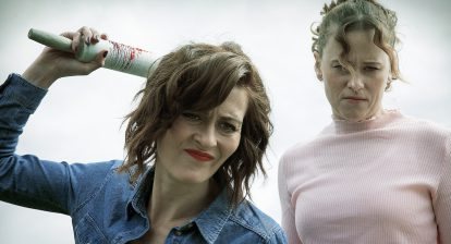 Poppy Roe and Katie Brayben in A Serial Killer's Guide to Life