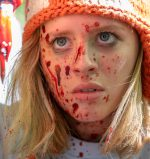 Lulu Wilson bloody in Becky